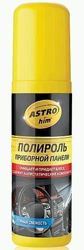 Полироль для пластика АС-2303 Астрохим, спрей (125мл) Горная свежесть, глянцевый - изображение