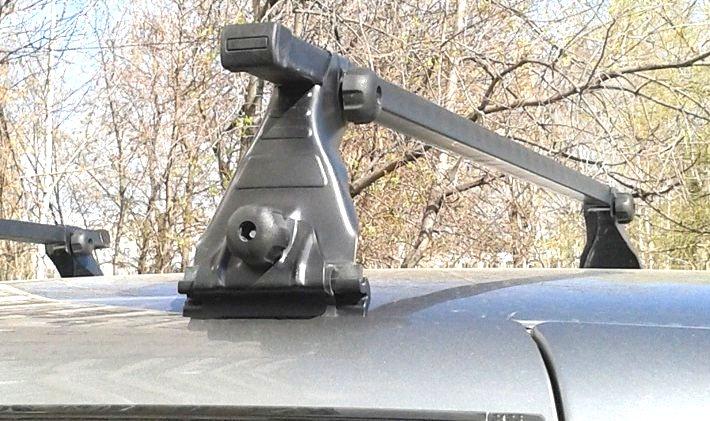 Багажник на гладкую крышу Atlant 8914 (125мм) ВАЗ 2123 (NIVA CHEVROLET) - изображение 2