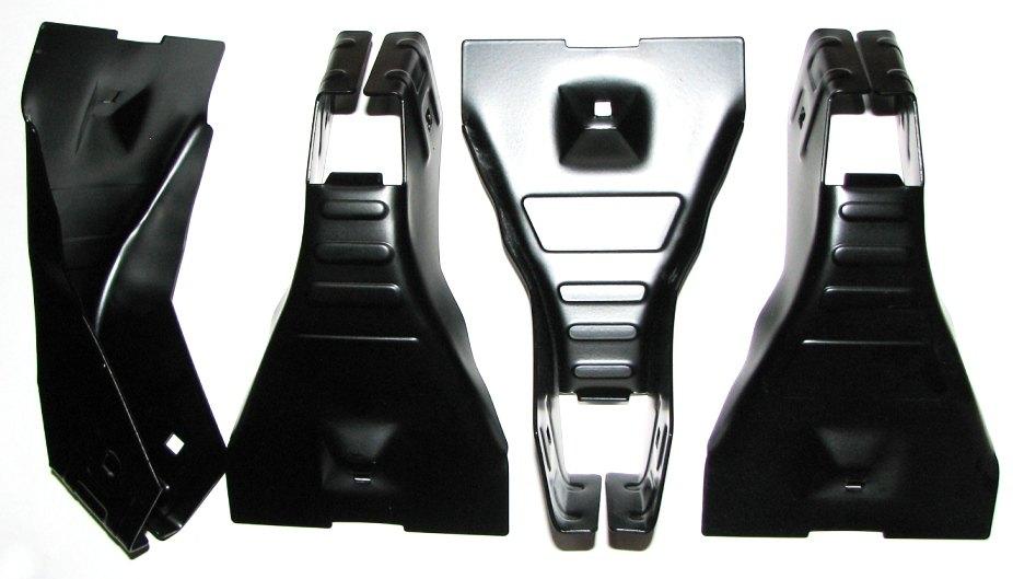 Багажник на гладкую крышу Atlant 8914 (125мм) ВАЗ 2123 (NIVA CHEVROLET) - изображение 7