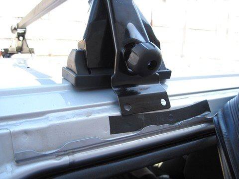 Багажник на гладкую крышу Atlant 8930 (110см) Лада Калина, Гранта - изображение 1