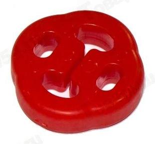Крепление глушителя ВАЗ 1118 красн PVC <b>Балаково 1118-1203073PVCкр</b> - изображение