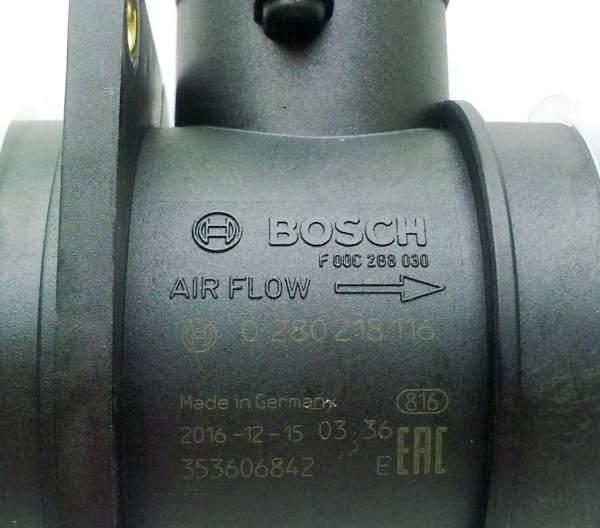 Расходомер воздуха BOSCH 0 280 218 116 - изображение 5