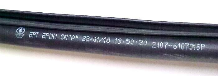 Уплотнение двери ВАЗ 2101-2107 БРТ 2107-6107018Р (2107-6107018) - изображение 4
