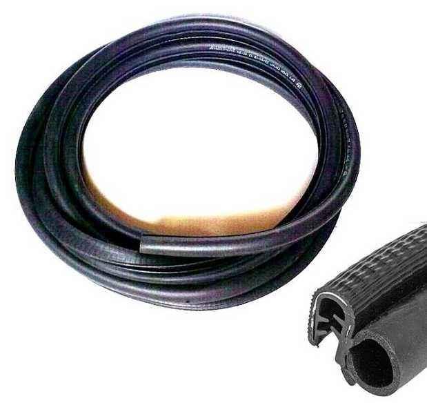 Уплотнение двери ВАЗ 2101-2107 БРТ 2107-6107018Р (2107-6107018) - изображение