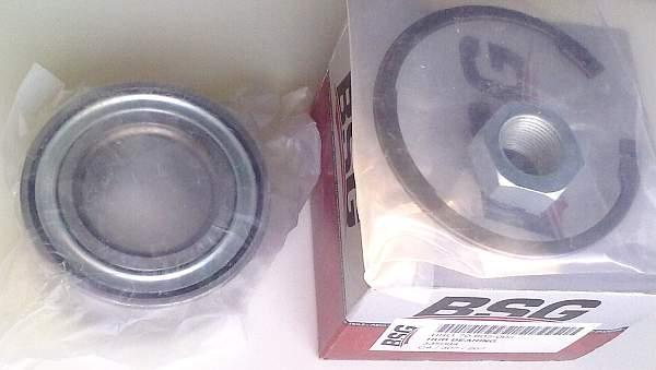 Комплект подшипника ступицы колеса BSG BSG 70-605-005 - изображение