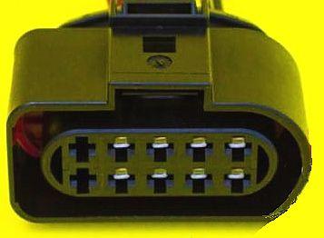Разъем блок-фары ВАЗ 2170 Приора CARGEN АХ-436 - изображение 1
