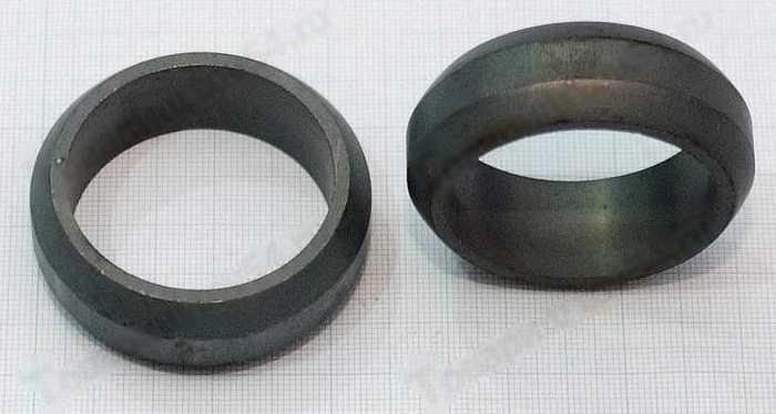 Кольцо хомута глушителя ВАЗ 1118 Калина <b>ДААЗ 1118-1203121</b> - изображение