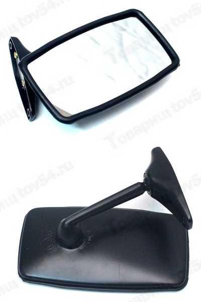 Зеркало бок ВАЗ 2101 увелич обзор <b>ДААЗ 21011-8201050-10</b> - изображение