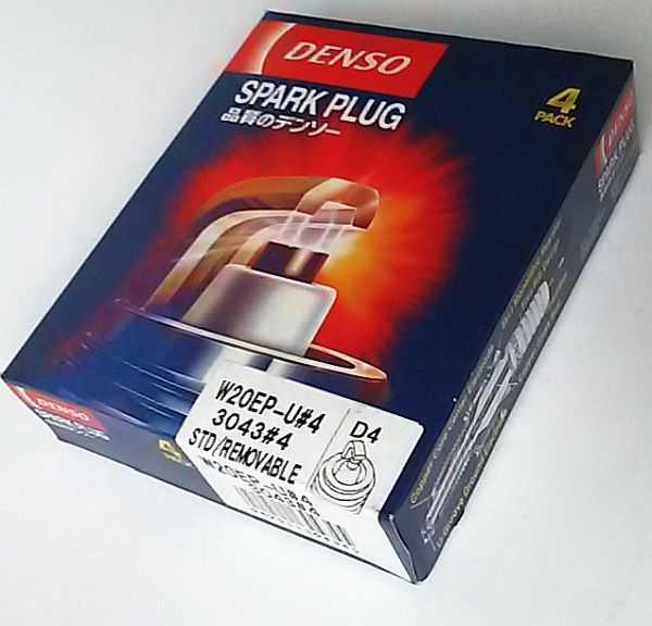 Свеча зажигания DENSO W20EP-U / D4 - изображение 1
