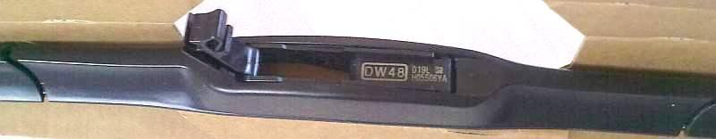 Щетка стеклоочистителя гибридная DENSO DUR-048L (для левого руля) - изображение 3
