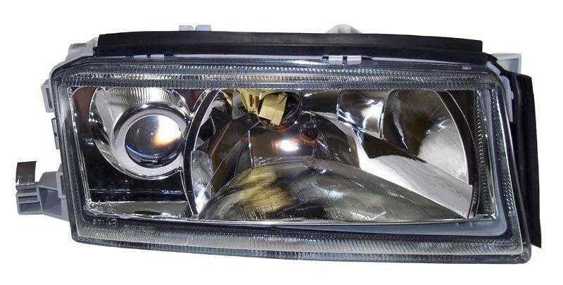 Фара SKODA OCTAVIA II 97-00 с туманкой, хрусталь <b>DEPO 665-1108R-LDEMF</b> - изображение