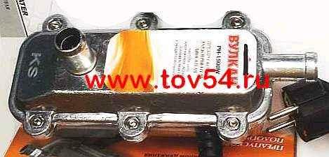 Подогреватель двигателя предпусковой 2 кВт DLAA РН-2000 с помпой и термореле, 220В, евровилка - изображение 1