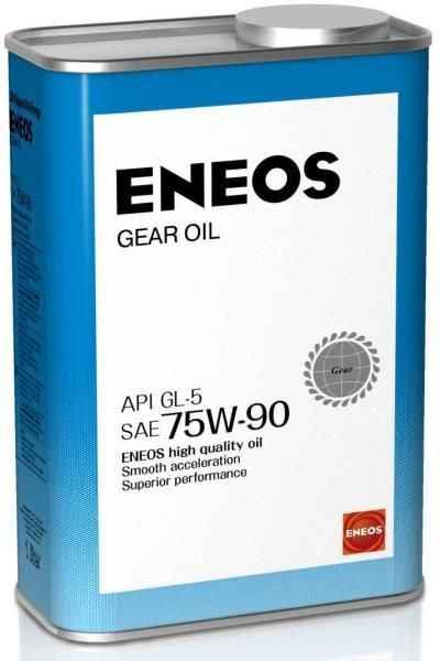Масло трансмиссионное 1л 75w90 Eneos GEAR GL-5 OIL1366 - изображение