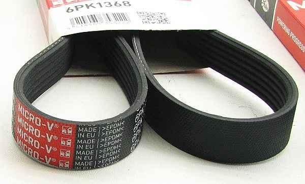 Поликлиновой ремень GATES 6PK1365 / 6PK1368 - изображение 1