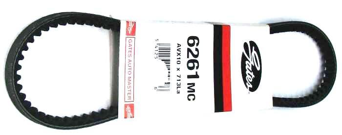 Клиновой ремень GATES AVX10 x 713La / 6261MC - изображение