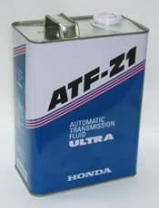 Масло трансмиссионное минеральное 4л Honda ULTRA ATF-Z1 08266-99904 - изображение