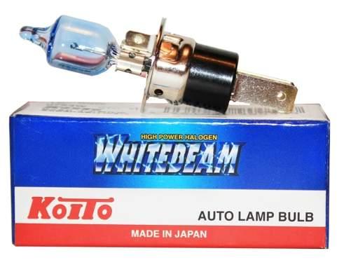 Лампа H3c 12V 55W (100W) KOITO 0753W высокотемп.белая - изображение
