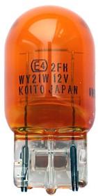 Лампа 12V 21W KOITO 1870A, T20 WY21W оранжевая - изображение