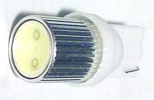 Лампа (LS06) светодиодная T10-SMD-1W (W2,1-9,5d) б/ц 1 сверхмощный диод 1W, белая 12V - изображение 1