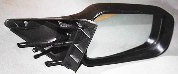 Зеркало бок ВАЗ 2110 голое /рычаг/ LADA (ДААЗ) правое <b>Лада-Имидж 2110-8201050</b> - изображение