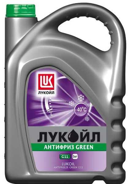 Антифриз ЛУКойл G11 зеленый  (5кг) - изображение