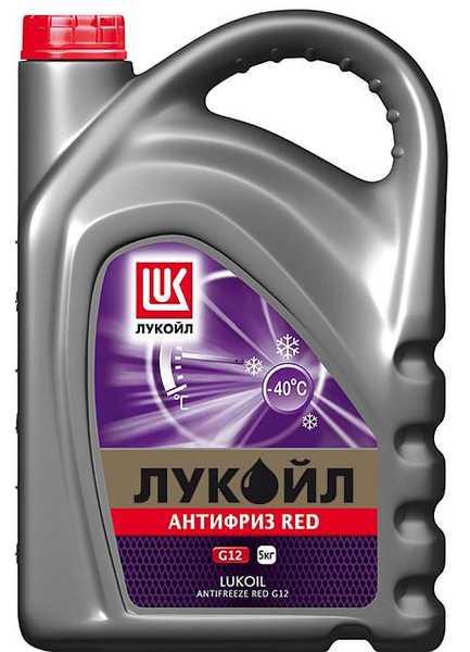Антифриз ЛУКойл G12 красный  (5кг) - изображение