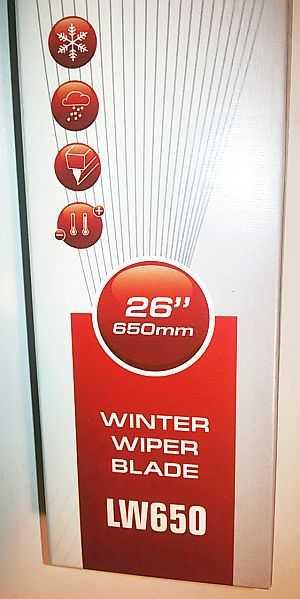 Щетка стеклоочистителя зимняя LYNXauto LW650 - изображение 4