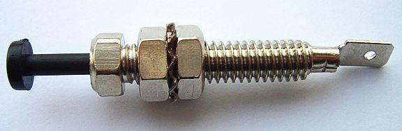 Кнопка (концевик) капота сигнальная ВАЗ 2110 - изображение 1