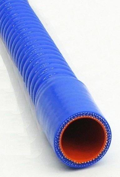 Патрубок силиконовый гофрированный d28мм длина 600мм - изображение