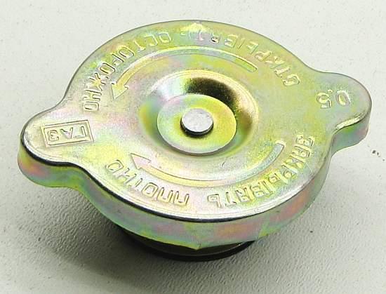 Крышка радиатора охлаждения  Волга, Газель металл - изображение