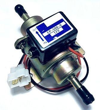 Бензонасос низкого давления 12V прямой  - изображение