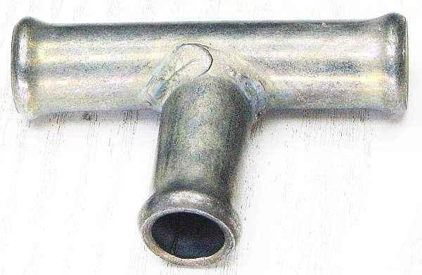 Трубка соединительная - тройник 16х14х16 мм - изображение