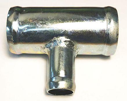 Трубка соединительная - тройник 38х20х38мм - изображение