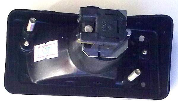 Подфарник ВАЗ-2101 правый белый рассеиватель черный корпус УП-148 (2101-3712011) - изображение 2