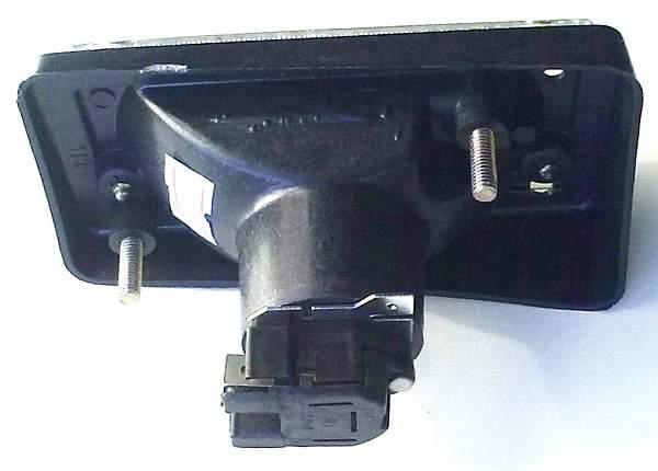 Подфарник ВАЗ-2101 правый белый рассеиватель черный корпус УП-148 (2101-3712011) - изображение 3