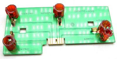 Плата заднего фонаря ВАЗ 2104 левая в сборе (2104-3716091) - изображение