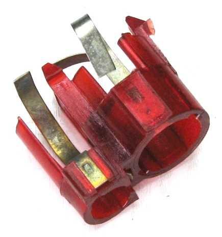 Патрон лампы заднего фонаря ВАЗ 2104-07 /2-х контактный/ <b>_ 2105-3716095-10</b> - изображение