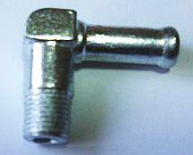 Штуцер термостата 1/8 угловой под шланг  8мм - изображение