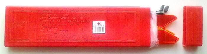 Знак аварийной остановки RT-107-1 с отражателями металл., c мет.подставкой, в пластик.пенале - изображение 1