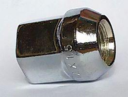 Гайка колесная 12х1,5 ключ на 19, сквозная L=24мм (Toyota/Mitsubishi) - изображение 1