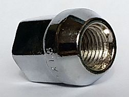Гайка колесная 12х1,5 ключ на 19, сквозная L=24мм (Toyota/Mitsubishi) - изображение