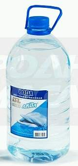 Вода дистиллированная (5л) - изображение