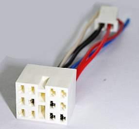 Разъем кнопки аварийной сигнализации и противотуманных фар ВАЗ 2108-21099 - изображение
