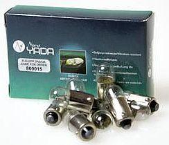 Лампа 12V 4W (T4W) BA9s повторитель поворота NORD YADA 800015 - изображение 1