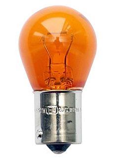 Лампа 12V 21W (PY21W) оранжевая BAU15s (выступы под 120°) NORD YADA 800044  (= 4570A KOITO) - изображение