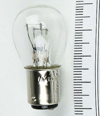 Лампа 12V 21+5W (P21/5W) 2 контакта ВАY15d беcцветная NORD YADA 901404 - изображение 6
