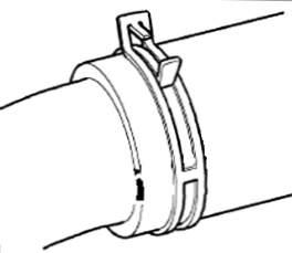 Хомут пружинный 23мм высокой нагрузки NORMA FBS23/12, ширина ленты 12мм - изображение 1