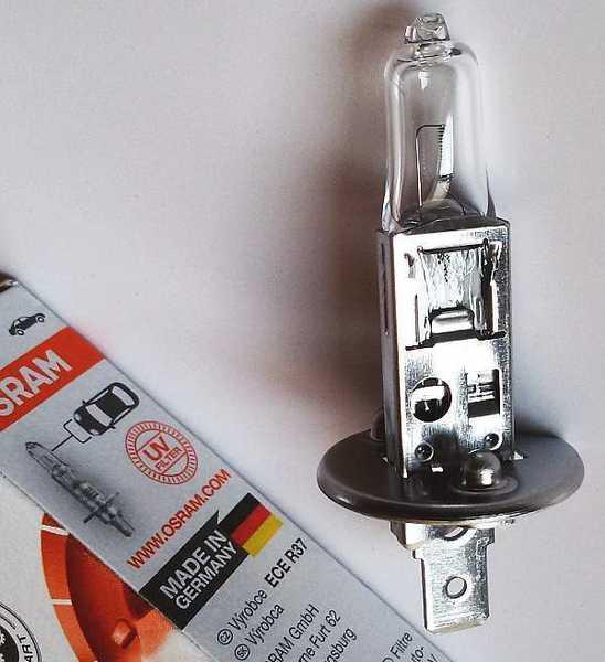 Лампа накаливания H1 12В 55Вт OSRAM 64150 - изображение 2