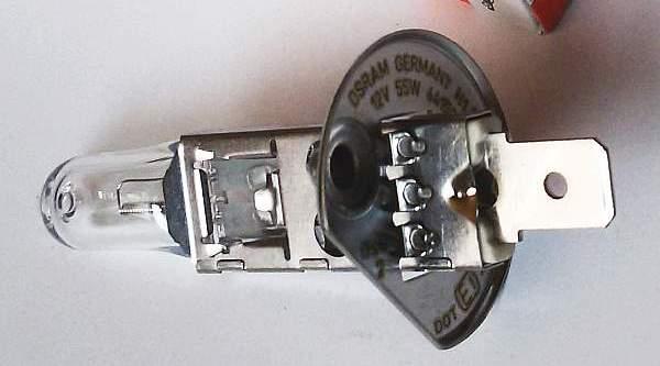 Лампа накаливания H1 12В 55Вт OSRAM 64150 - изображение 3