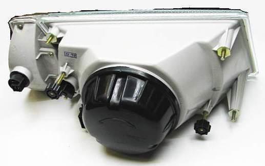 Блок-фара ВАЗ 2108, 2109, 099 левая, ОСВАР 931.3711-03 бесцветн.указатель поворота (2108-3711011-03) - изображение 1